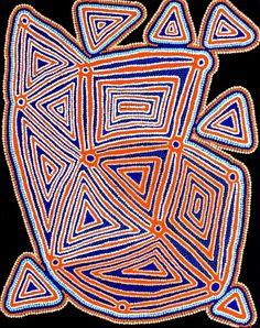 Karnta Jukurrpa (Womens Dreaming) - Pikilyi by Valerie Napanangka Marshall