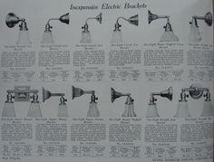1910 sears lighting catalog