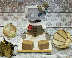 Awesome  Steampunk cake!