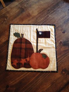 Hey, I found this really awesome Etsy listing at https://www.etsy.com/listing/197017326/pumpkin-wall-hanging-applique-cotton-and