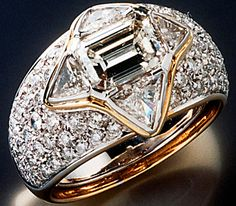 ring that Dodi gave to Princess Diana