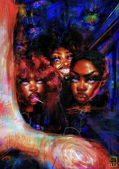 Pho, Copic Marker Drawings, Pop Art Wallpaper, Art Hoe, Afro Art, Black Artists, Art Drawings Sketches, Art Inspo, Painting Inspiration