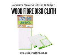 Wood Fibre Dish Cloths - White Magic! 🍃 Made from 8 layers of natural and sustainable wood pulp fibre sheets. 🍃 Highly absorbent and perfect for picking up liquid, dirt and bacteria. 🍃 Rinses clean under warm water so removing bacteria, stains and odour. 🍃 Once wet, the cloth is super soft and long lasting and can be machined washed up to 100 times. 🍃 Compostable in optimal conditions within 10 to 12 months.