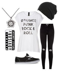 """Grunge, Punk, Rock N' Roll"" by nutelligence ❤ liked on Polyvore featuring Axel, Vans, CellPowerCases, women's clothing, women, female, woman, misses and juniors"