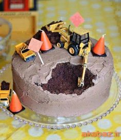 Kids cake idea.  Especially if you mess it up lol!
