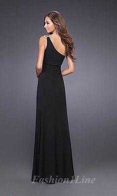 a very classic little black dress.