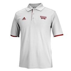 Mississippi State Bulldogs adidas Sideline Coordinator Performance Polo - Gray - $32.99