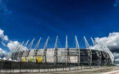 5) Estádio Castelão (Estádio Governador Plácido Castelo) in Fortaleza   Capacity: 66.700