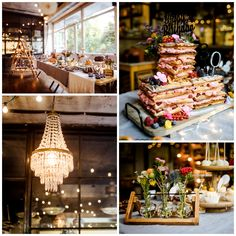 Industrial wedding Sweet Table Eye Candy, Industrial Wedding, Table Decorations, Home Decor, Newlyweds, Wedding Cakes, Ideas, Decoration Home, Room Decor