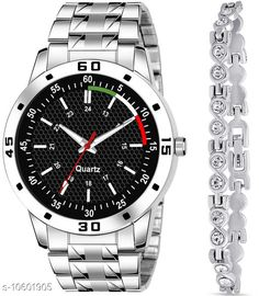 Checkout this latest Watches Product Name: *K23 & J2 Pack of 2 Attractive Unique Dial With Unique And Exclusive New Analog Watches For Men & Women Bracelet* Strap Material: Stainless Steel Display Type: Analogue Size: Free Size Multipack: 1 Country of Origin: India Easy Returns Available In Case Of Any Issue   Catalog Rating: ★4.3 (355)  Catalog Name: Classy Men Watches CatalogID_1941497 C65-SC1232 Code: 352-10601905-384