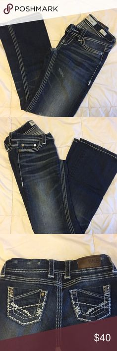 BKE Jeans 26R BKE Stella jeans. Basically brand new, but no tags. Cute pockets and semi flare/wide boot. BKE Jeans Boot Cut