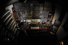Saturday Synth Porn: After seeing these photos of Michel van Osenbruggen's Apollo Studios, the Synthtopia synth lab suddenly looks inadequate.