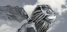 Stijn Windig Concept Artist - Lion King Droid
