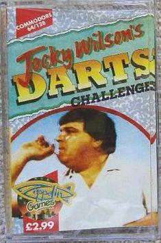 Jocky Wilson's Darts Challenge C64/128 cassette - Zeppelin Games
