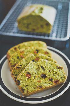 Goji Berry Green Tea Cake