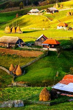 Romania,Sureanu Mountains in Hunedoara County Beautiful Places To Visit, Wonderful Places, Places To See, Romania People, Visit Romania, Romania Travel, European Countries, Cabana, Countryside