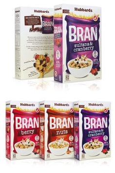 Hubbards Bran Cereal | http://www.thedieline.com/blog/2014/5/12/before-after-hubbards-bran-cereal