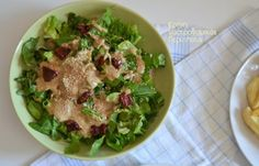 Σάλτσα - άλειμμα με ταχίνι: για σαλάτες, για πατάτες, για ψωμί και παξιμάδι (και όχι μόνο) - cretangastronomy.gr Salad Bar, Potato Salad, Potatoes, Chicken, Meat, Ethnic Recipes, Food, Eten, Potato
