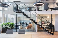 Greenery in the office #commercialofficedesigns