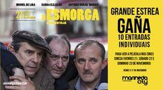 Este viernes 21 de noviembre Marineda City acoge el estreno de A Esmorga, la película de Ignacio Vilar basada en la novela homónima de Blanco Amor. ¿Te apetece verla gratis? Participa en el quiz que os proponemos en www.facebook.com/centrocomercialmarinedacity y podrás llevarte una de las 10 entradas que sorteamos! #cine #audiovisualgalego #AEsmorga  ............................................
