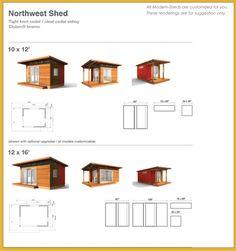 Smaller retreat buildings