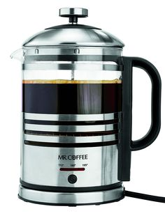 Mr. Coffee BVMC-FPK33 2-n-1 Electric French Press and Hot Water Kettle