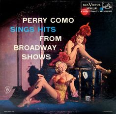 Perry Como Sings Hits from Broadway Shows Vintage LP Cover Art, Lp Cover, Vinyl Cover, Easy Listening, Vinyl Record Art, Vinyl Records, Some Enchanted Evening, Perry Como, Pochette Album