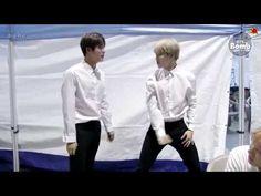 [ENG SUB] [BANGTAN BOMB] Jin's personal practice 'FIRE' for SBS Gayo Daejun 2016 ❤ #BTS #방탄소년단