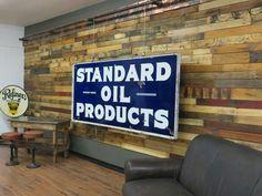 Standard Oil Porcelain Sign