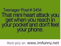 """Or when its not in your backpack and you panic then get to school in tears and your friends all like """"its in your pocket""""... Experince"""