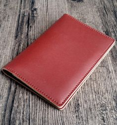 Travel wallet made of genuine red/wine leather, handmade production. Available in 4 colors on our Etsy shop. Shipped from France all around the world Leather Accessories, Red Wine, France, Etsy Shop, Wallet, Colors, Handmade, Travel, Unique Jewelry