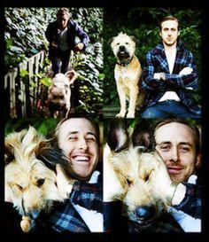 Ryan Gosling & George <3
