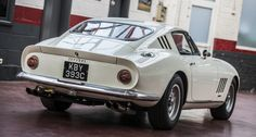 While visiting the workshop of GiPi Motor in Brussels, our photographer Rémi Dargegen stumbled upon this magnificent white, matching-numbers, short nose Ferrari 275 GTB. And we must confess: we haven't seen a more beautiful car in a long time. Ferrari, Maserati, Car Ins, Cars Motorcycles, Falling In Love, Automobile, Bike, Vehicles, Classic