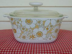 Rare Vintage Corning Ware 1 3/4 QT casserole by RosieTheRepurposer