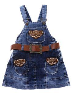 Κάθε μέρα νέα παιδικά και νεανικά ρούχα στο www.AZshop.gr! Μπείτε και δείτε τώρα! Dungarees Outfits, Denim Overalls, Baby Girl Jeans, Girls Jeans, Little Girl Fashion, Kids Fashion, Cute Babies, Baby Kids, Toddler Girl Style