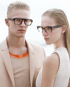 From the new #CalvinKlein Collection men's and women's #eyewear collection that's luxurious, modern and provocative, fusing minimalism and the latest trends. #fashion #accessories