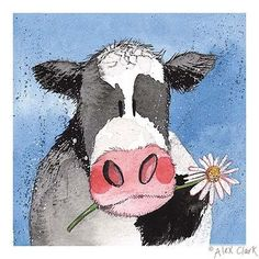 Alex Clark Art - Dairy Cow                                                                                                                                                                                 More