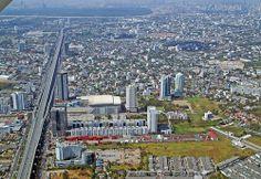 Bang Na expressway in Bangkok Thailand