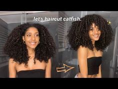 my curly hair routine : fake lion cut edition | Laurscurls