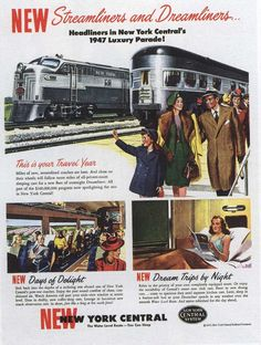 https://flic.kr/p/9hUrtw | Ad for New York Central 1947