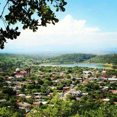 Panorámica de Tilzapotla Morelos.