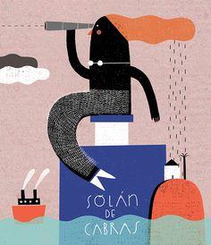 La Sirena de Solán by Teresa Bellon, via Behance