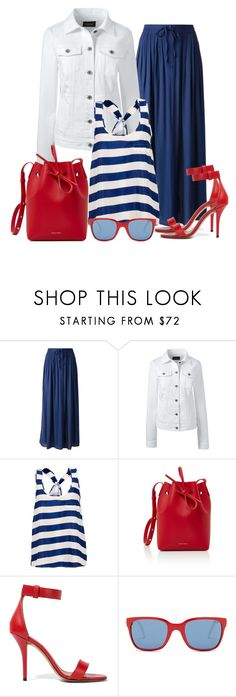 """Untitled #1481"" by gallant81 ❤ liked on Polyvore featuring Cotélac, Lands' End, Mansur Gavriel, Givenchy and Polo Ralph Lauren"