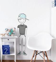 Úžasný Leon bude skvelou spoločnosťou do každej detskej izbičky.  Nálepku môžete umiestniť na akýkoľvek hladký povrch, ktorý ozdobí nielen steny, ale aj nábytok a okná.   Rozmery:  M: šírka 7cm x výška 25cm L: šírka 23cm x výška 80cm XL: šírka 32cm x výška 110cm Pastel, Stickers, Home Decor, Homemade Home Decor, Cake, Sticker, Decal, Decoration Home, Decals