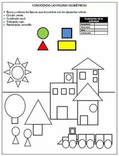 worksheets kids * worksheets kids ` worksheets kids english ` worksheets kids free printable ` worksheets kids kindergarten ` worksheets kids fun ` worksheets for kids ` animals worksheets for kids ` kids math worksheets Printable Preschool Worksheets, Kindergarten Math Worksheets, Worksheets For Kids, Free Printables, Preschool Learning Activities, Preschool At Home, Fun Activities, 2d Shapes Activities, Learning Shapes