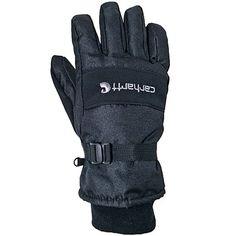 Carhartt Gloves Men's Black Waterproof Insulated Work Gloves  A511 BLK