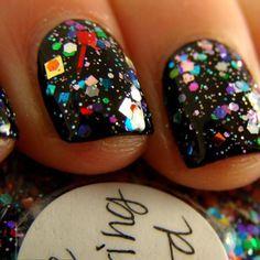 Party Nails!!! Love this polish!