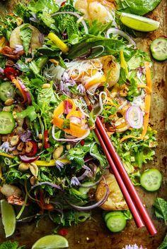 Vietnamese Shrimp Salad from @heatherchristo