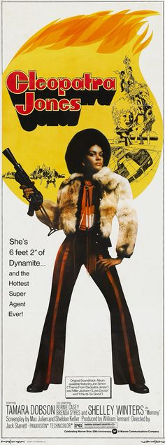 Tamara Dobson in film, Cleopatra Jones