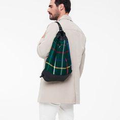 Twist. Green Check. HB/79 www.thehentenbag.com #purses #bags #fashion